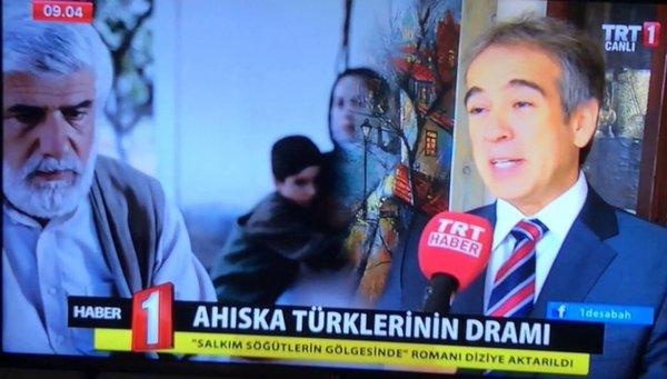 Fırat Sunel'in Salkım Söğütlerin Gölgesinde adlı romanı ve Ahıska Türklerinin dramına ilişkin TRT1'de yayınlanan söyleşisi.