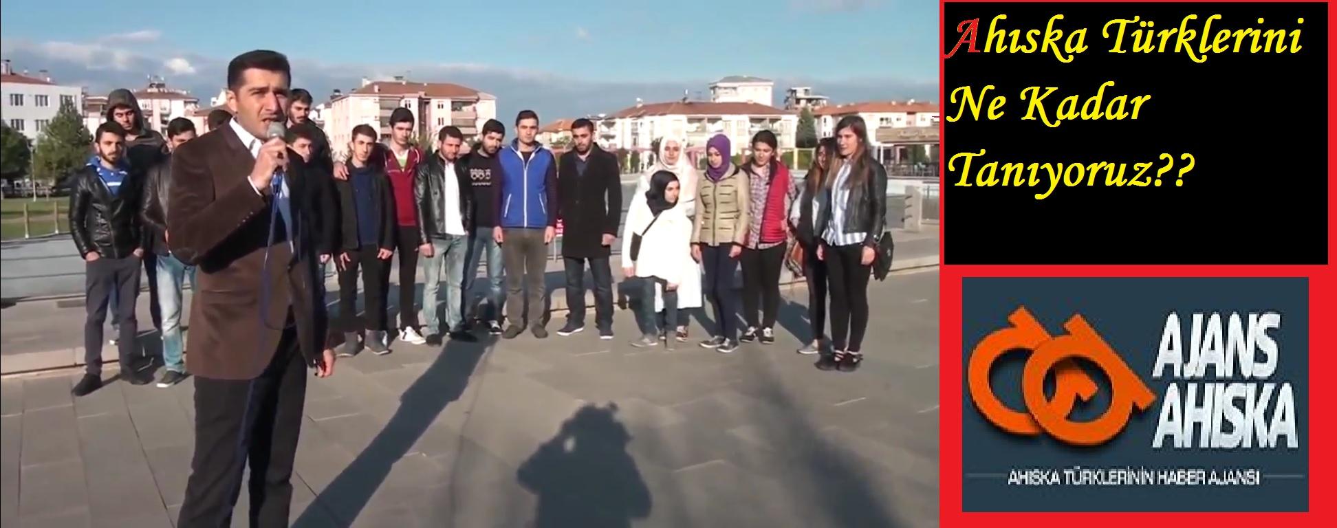 Sokak röportajı 'Ahıska Türkleri Kimdir ? ''