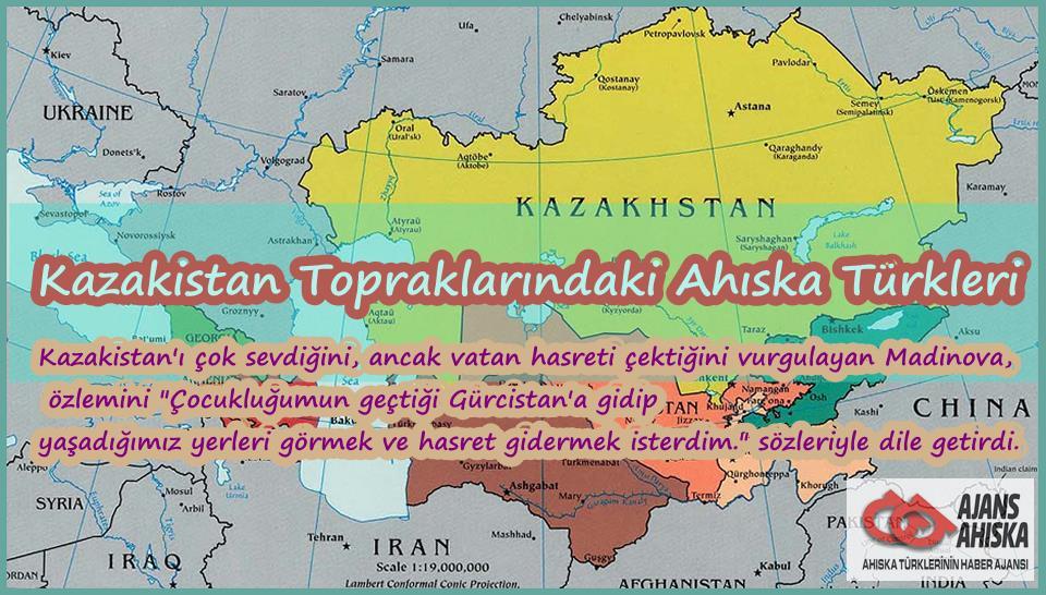 Kazakistan Topraklarındaki Ahıska Türkleri