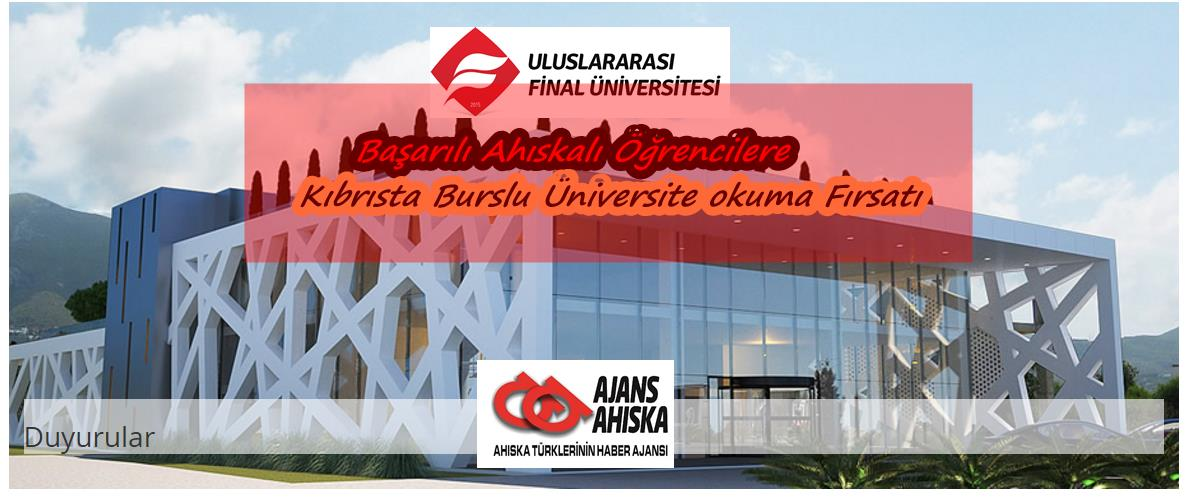 Başarılı Ahıskalı Öğrencilere Kıbrısta Burslu Üniversite okuma Fırsatı