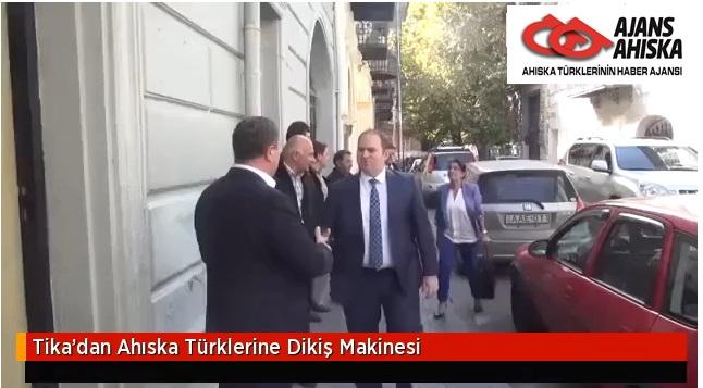 Tika'dan Ahıska Türklerine Dikiş Makinesi
