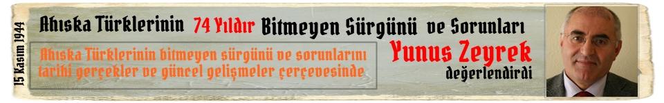 Ahıska Türklerinin 74 Yıldır Bitmeyen Sürgünü ve Sorunları