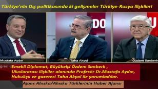 Türkiye'nin Dış politikasında ki gelişmeler Türkiye-Rusya ilişkileri