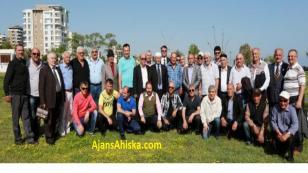 Antalya'da yaşayan Ahıska Türkleri Yemekte Buluştu