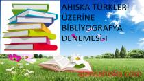Ahıska Türkleri Üzerine Bibliyografya Denemesi-I