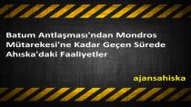 Batum Antlaşması'ndan Mondros Mütarekesi'ne Kadar Geçen Sürede Ahıska'daki Faaliyetler
