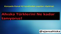 Konyada Kanal 42'nin yaptığı röpörtaj : Ahıska Türklerini Ne kadar tanıyoruz