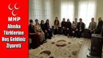 MHP'den Ahıska Türklerine Hoş Geldiniz Ziyareti