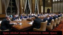 Cumhurbaşkanımız  Ahıska Türkleri Heyetini Kabul Etti