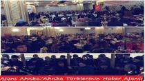 Erzincan'a Yerleşen Ahıska Türkleri yemekte buluştu