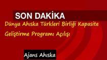 Dünya Ahıska Türkleri Birliği Kapasite Geliştirme Programı Açılışı