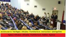 Erzincan'a Yerleşen Ahıska Türklerinin Sorunları Görüşüldü
