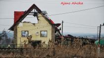 Ahıska Türklerinin terk ettiği Slavyansk hala harap durumda