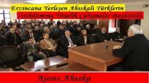 Erzincana Yerleşen Ahıska Türklerinin İstihdamına Yönelik Çalışmalar Başlatıldı