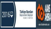 2016 Türkiye Bursları Başvuruları Başlıyor
