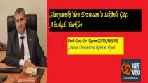 Slavyanski'den Erzincan'a İskânlı Göç: Ahıskalı Türkler