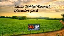Erzincandaki  Ahıska Türkleri Şehirdeki Tarımsal İşletmeleri Gezdi