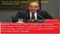 Başbakan Yardımcısı Yalçın Akdoğan,Biz, hükümet olarak Ahıska Türklerine, soydaşlarımıza, kardeşlerimize sahip çıkmaya,