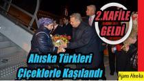 Ukraynadan Ahıska Türklerinin 2.kafilesi Erzincan'a Geldi