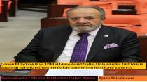 Salim Uslu Ahıska Türklerinin yaşadığı sorunları Dışişleri Bakan Yardımcısı Naci Koru'ya iletti.