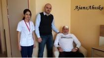 Beyninde Tümör Bulunan Ahıska Türkü Ameliyat Oldu