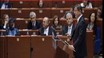 Başbakanımız Avrupa Konseyinde Ahıska Türkleri hakkında  bilgi verdi.