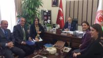 Ahıska Türkleri Lobisinden Uslu'ya ziyaret