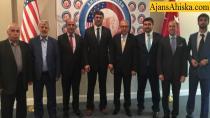 Washington Büyükelçisi Kılıç, Ahıska Türkleri ile bir araya geldi