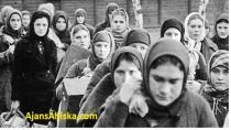 Stalin'in emriyle 1937'de kurulan kamplara on binlerce siyasi mahkum sürgün edildi.