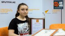 Rus Dili Olimpiyatlarında Ahıska Türkü Hatice Birinci oldu