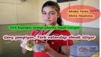 Genç şampiyon, Türk vatandaşı olmak istiyor