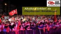 Ahıska Türkleri de meydanları bırakmıyor
