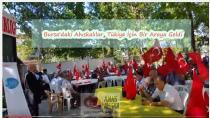 Bursa'daki Ahıskalılar, Tükiye İçin Bir Araya Geldi