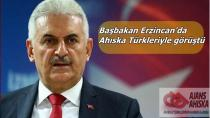 Başbakan Erzincan'da Ahıska Türkleriyle görüştü