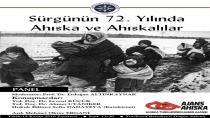 Posofta :'Sürgünün 72. Yılında Ahıska ve Ahıskalılar paneli