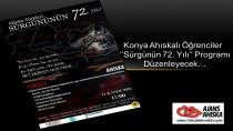 Konya Ahıskalı Öğrenciler ''Sürgünün 72. Yılı'' Programı Düzenleyecek