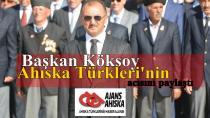 Başkan Köksoy, Ahıska Türkleri'nin acısını paylaştı