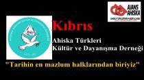 Kıbrıs Ahiska Türkleri Kültür ve Dynş.Der.: