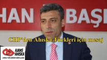 CHP'den Ahıska Türkleri için mesaj