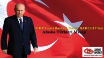 MHP Genel Başkanı Devlet BAHÇELİ'den Ahıska Türkleri Mesajı