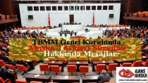 TBMM Genel Kurulunda Ahıska Türkleri Sürgünü Hakkında Mesajlar