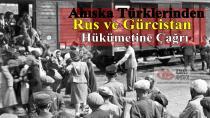 Ahıska Türklerinden Rus ve Gürcistan hükümetine çağrı