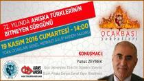 Ocakbaşı Sohbeti: 72. Yılında Ahıska Türklerinin Bitmeyen Sürgünü