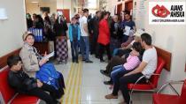 Türkiye'ye gelen 529 Ahıska Türkü'ne sağlık taraması