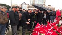 DATÜB Genel Başkanı Ziyatdin KASSANOV İstanbul Beşiktaş'ta terör saldırısının gerçekleştiği yeri ziyaret etti.
