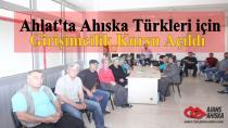 Ahlat'ta Ahıska Türkleri içinGirişimcilik Kursu Açıldı