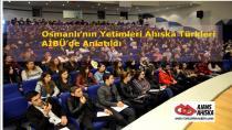 Osmanlı'nın Yetimleri Ahıska Türkleri AİBÜ'de Anlatıldı
