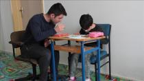 Erzincan'da Ahıska Türkü engelli çocuğa özel sınıf
