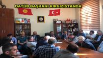 DATÜB Başkanı, Kırgızistan'da meydana gelen olaylardan etkilenen Ahıskalı aileler ile biraraya geldi.