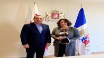 Datüb Temsilcisi Gürcistan Devlet Yetkilileri ile Görüştü